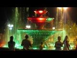 Поющий фонтан в Геленджике.